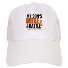 My Battle Too (Son) Orange Baseball Cap