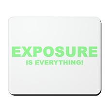 Exposure Green Mousepad