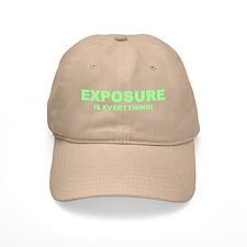 Exposure Green Baseball Cap