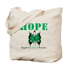 HopeButterfly LiverCancer Tote Bag