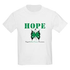 HopeButterfly LiverCancer T-Shirt