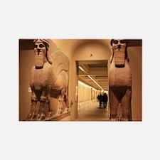British Museum, London Rectangle Magnet