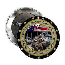 """4th Stryker Brigade 2.25"""" Button"""