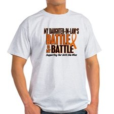 My Battle Too (Daughter-In-Law) Orange T-Shirt