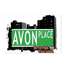 AVON PLACE, STATEN ISLAND, NYC Postcards (Package
