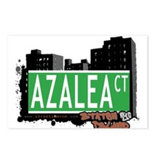 AZALEA COURT, STATEN ISLAND, NYC Postcards (Packag
