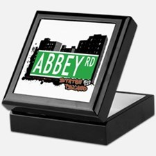ABBEY ROAD, STATEN ISLAND, NYC Keepsake Box