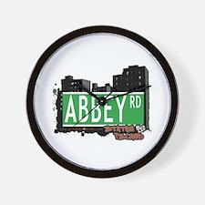ABBEY ROAD, STATEN ISLAND, NYC Wall Clock