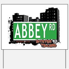 ABBEY ROAD, STATEN ISLAND, NYC Yard Sign