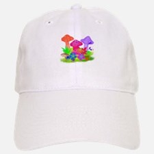 Magic Mushrooms Baseball Baseball Cap