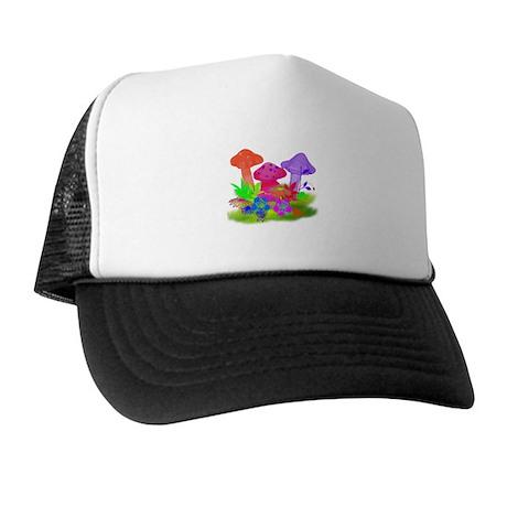 Magic Mushrooms Trucker Hat