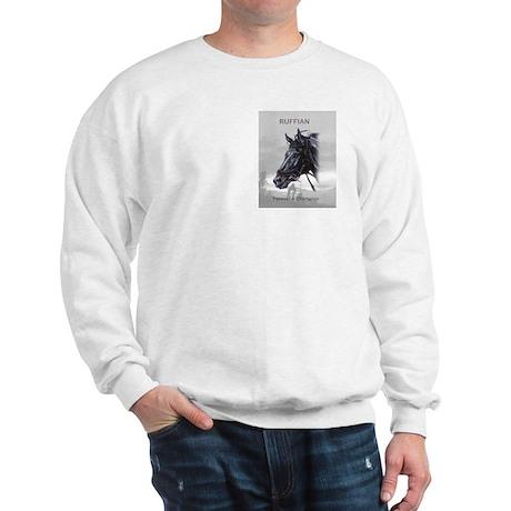 Ruffian Sweatshirt: Portrait on front