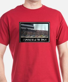 """""""I'd Rather Be At The Track"""" T-Shirt"""