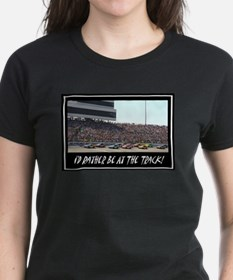 """I'd Rather Be At The Track"" Tee"