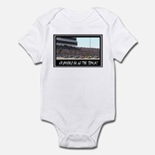 """I'd Rather Be At The Track"" Infant Bodysuit"