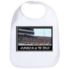 """I'd Rather Be At The Track"" Bib"