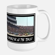 """I'd Rather Be At The Track"" Mug"