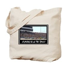 """""""I'd Rather Be At The Track"""" Tote Bag"""