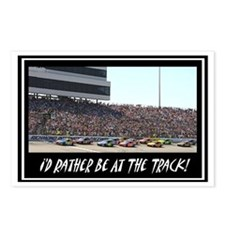 """""""I'd Rather Be At The Track"""" Postcards (Package of"""