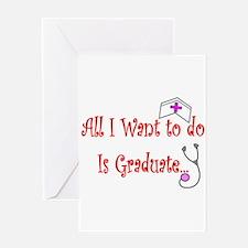More Nursing Student Greeting Card