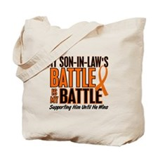 My Battle Too (Son-In-Law) Orange Tote Bag