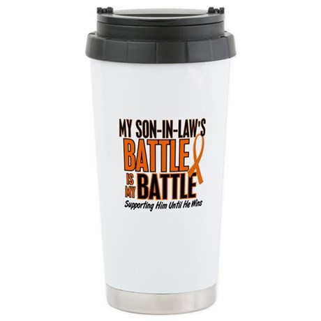 My Battle Too (Son-In-Law) Orange Stainless Steel