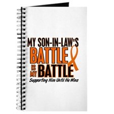 My Battle Too (Son-In-Law) Orange Journal