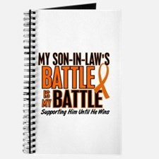 My Battle Too (Son-In-Law) Orange Journal
