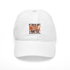 My Battle Too (Son-In-Law) Orange Baseball Cap