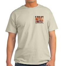 My Battle Too (Son-In-Law) Orange T-Shirt