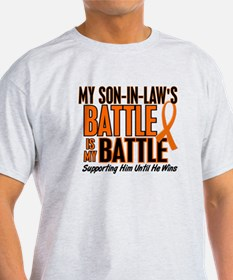 My Battle Too (Son-In-Law) Orange T-Shirt