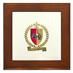 GUIDRY Family Crest Framed Tile