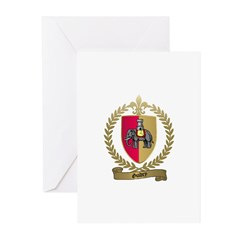 GUIDRY Family Crest Greeting Cards (Pk of 10)