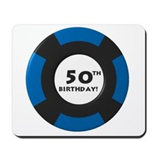 Vegas 50th Birthday Mousepad