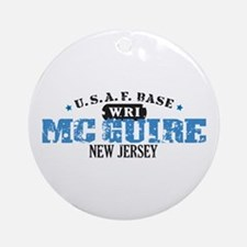 McGuire Air Force Base Ornament (Round)