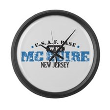 McGuire Air Force Base Large Wall Clock