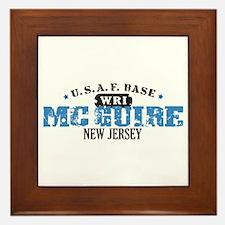 McGuire Air Force Base Framed Tile