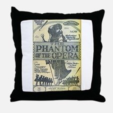 Des Moines Theatre Ad Throw Pillow