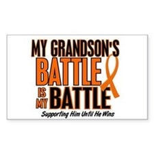 My Battle Too (Grandson) Orange Decal
