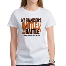 My Battle Too (Grandson) Orange Tee