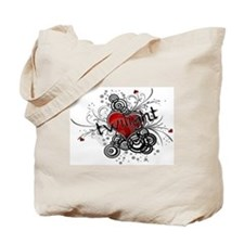 Twilight valentine grunge Tote Bag
