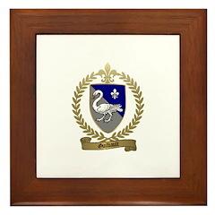 GUILBAULT Family Crest Framed Tile