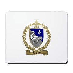 GUILBAULT Family Crest Mousepad