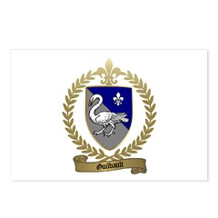 GUILBAULT Family Crest Postcards (Package of 8)