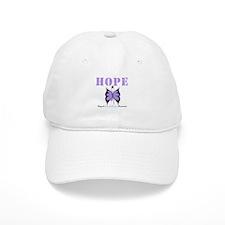 HopeButterfly GeneralCancer Baseball Cap