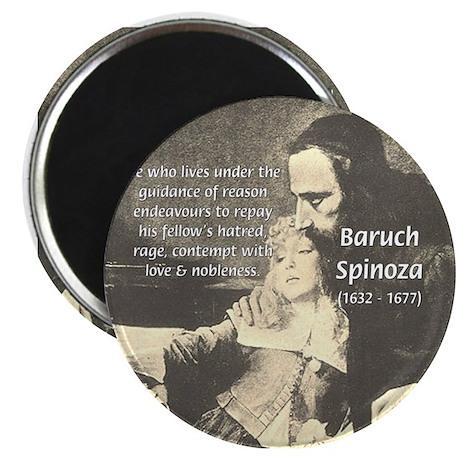 "Rationalist Baruch Spinoza 2.25"" Magnet (10 pack)"