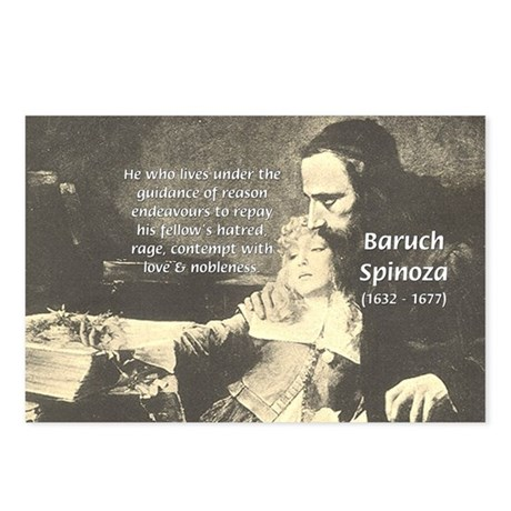 Rationalist Baruch Spinoza Postcards (Package of 8