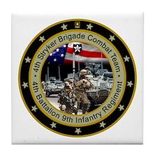 4th Stryker Brigade Tile Coaster