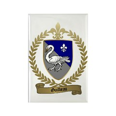 GUILBEAU Family Crest Rectangle Magnet (100 pack)