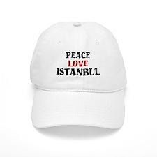 Peace Love Istanbul Baseball Cap